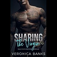 Sharing the Virgin: Rough MC Menage Erotic Romance (Desert Devils MC Book 2) (English Edition)