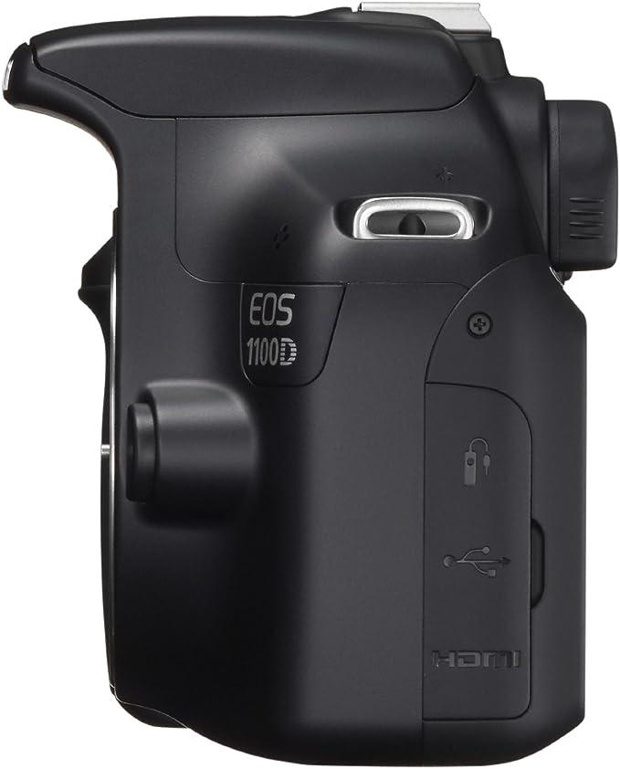 Canon EOS 1100D - Cámara réflex digital de 12 Mp (pantalla 2.7 ...