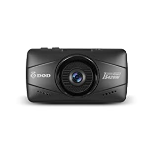"DOD IS420W, 2.7"" LCD, Full 1080P Mini Dash Cam, Sony Sensor, Parking Surveillance, High Speed GPS, Free 16GB Micro SD Card Included"
