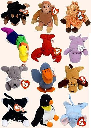 666a6dcb4f5 TY - McDonalds - Teenie Beanie Babies (1999) - 12 Piece Set - Set 2 ...