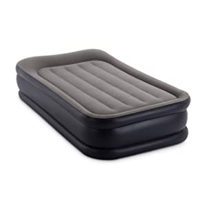 Intex Dura-Beam Standard Series Deluxe Pillow Rest Raised Airbed with Internal Pump