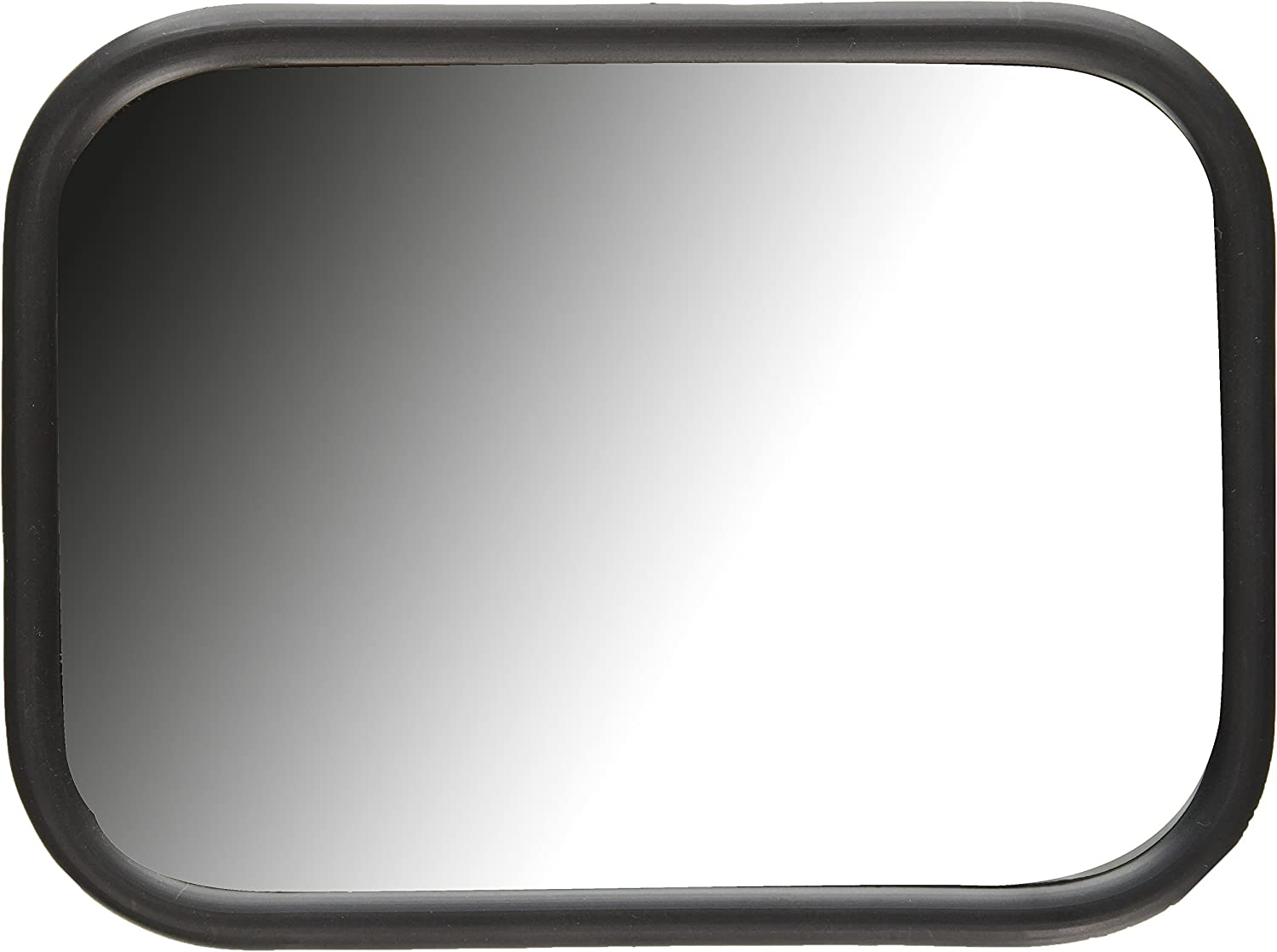 Grote 12071 White Rolled-Rim Mirror with Ball Swivel