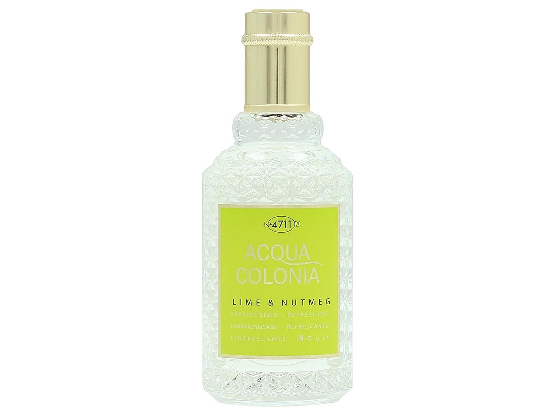 4711 Acqua Colonia Lime and Nutmeg Eau de Cologne Spray for Unisex 50 ml 4011700744671