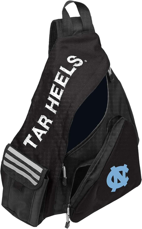 "UNC Tar Heels ""Leadoff"" Sling Backpack, 20"" x 9"" x 15"" : Clothing"