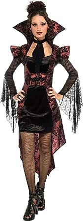 Rubie's Vampiro Vixen vestido con chamarra y jabot Disfraz para Mujer