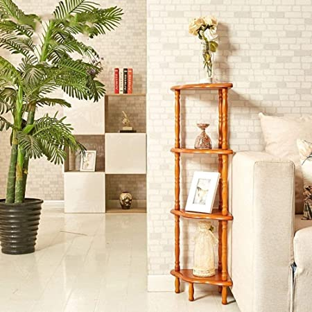 Wandbehang Regal Estanterías Estanterías domésticas 4 Niveles de escalera estante de exhibición Estante de almacenamiento con estanterías estante de la pared Bastidores Inicio estante de exhibición: Amazon.es: Hogar