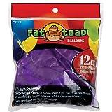 Axiom International Fat Toad Latex Balloons, Deep Purple, 12-Inch