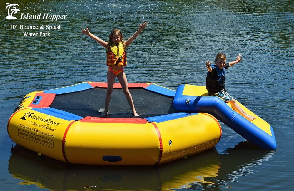 10' Bounce N Splash Padded with Water Bouncer