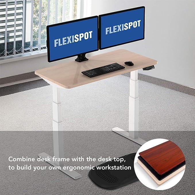 FLEXISPOT Sobremesa de 120x 60x2,5cm para Escritorio con Altura ...
