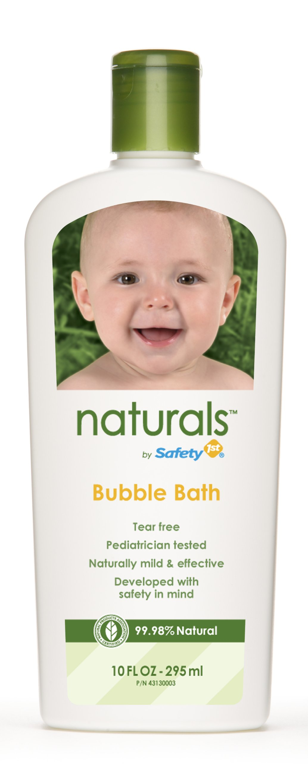 Safety 1st Naturals Bubble Bath, 10-Fluid Ounce Bottles (Pack of 3) by Safety 1st