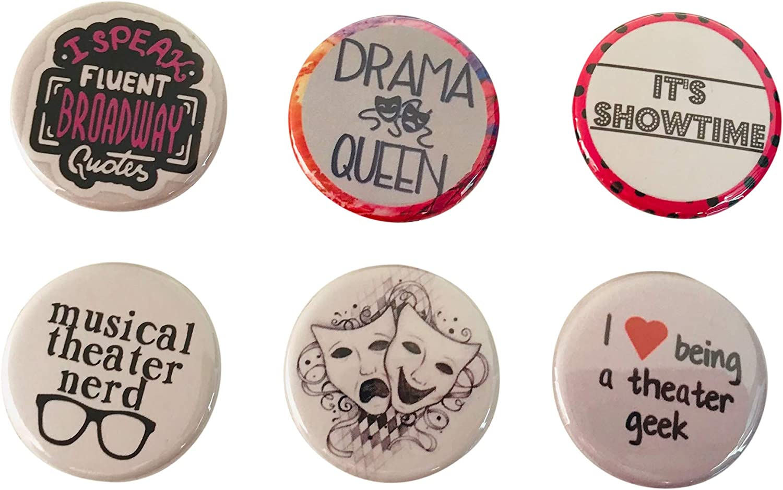 Magnet Musical Theatre Mamma Mia Musical Money Money Inspired Pinback Badge Button