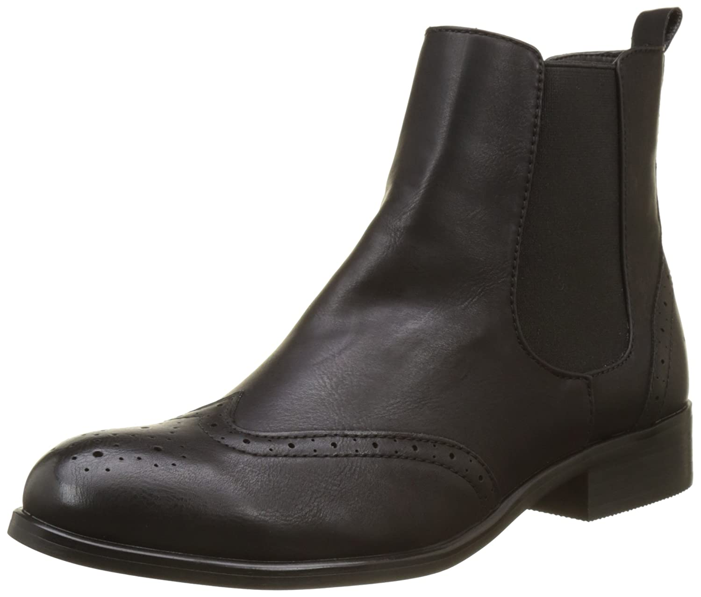 Buffalo Damen B195a-61 P2173a Leather Pu Chelsea Stiefel