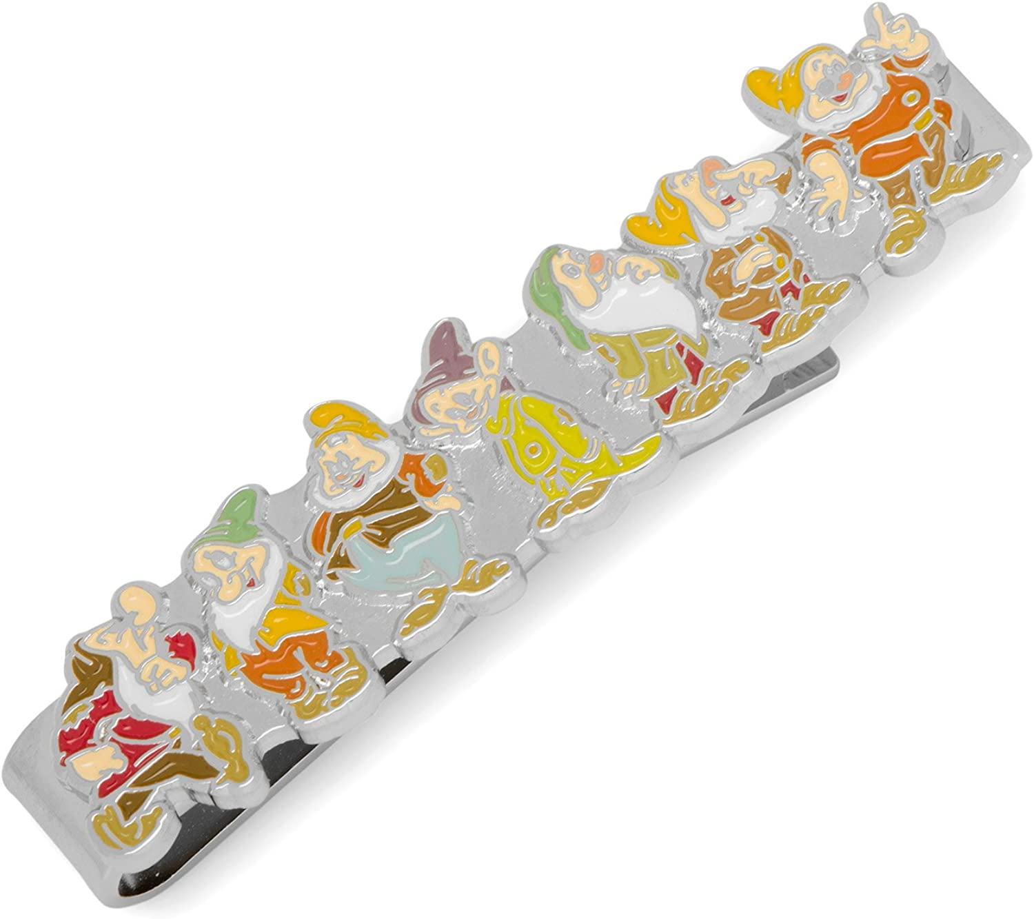 Snow White Seven Dwarfs Tie Bar