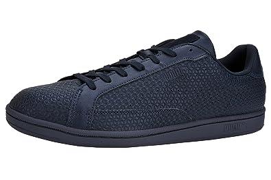 52bfa03f3b25 PUMA Men s Match Emboss New Navy New Navy Sneaker 8 D ...