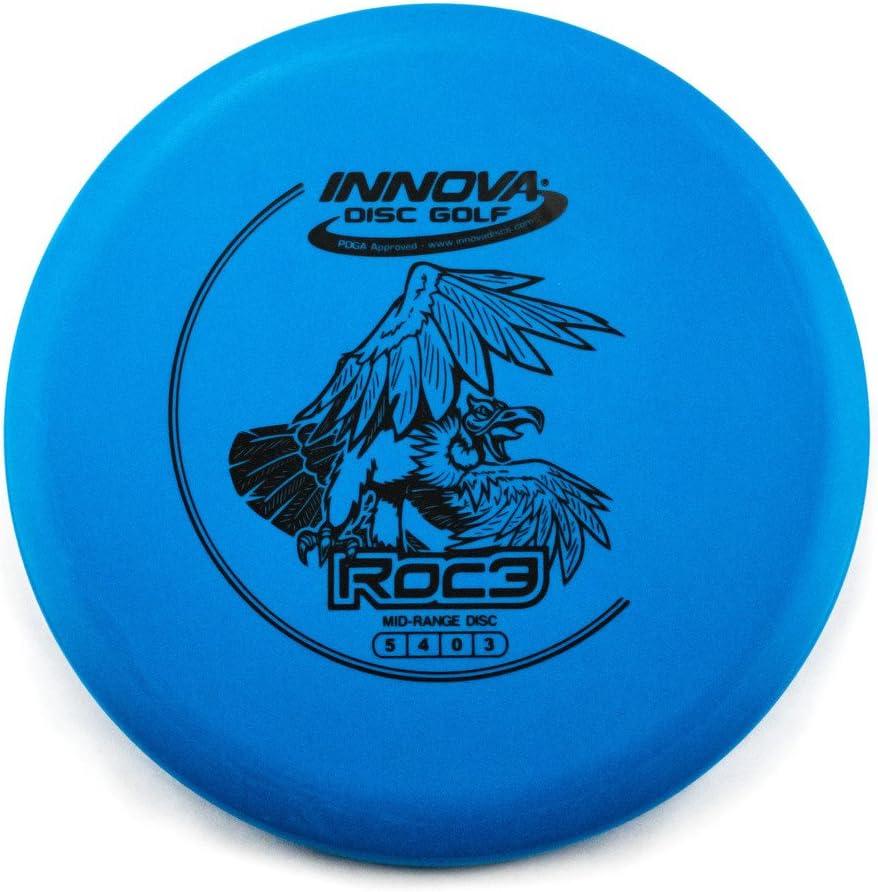 Innova DX Roc3 Mid-Range Golf Disc [Colors May Vary]