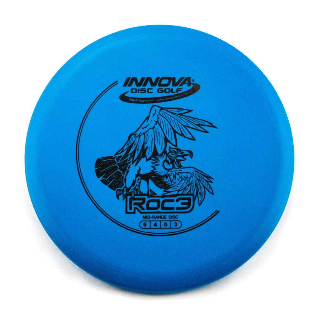 INNOVA DX Roc3 Mid-Range Golf Disc [Colors May Vary] - 140-150g
