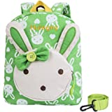 Backpack for Girls - Hulegny Rabbit Animals Kids Book Backpack Baby Girls School Bag
