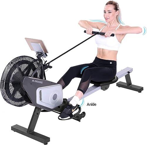 MaxKare Air Rowing Machine Unadjustable Huge Air Resistance Rower