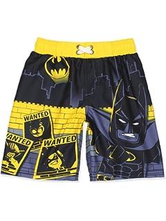 5a3adad9b7 Amazon.com: LEGO DC Comics Batman and Joker Boys Boardshort Swim ...