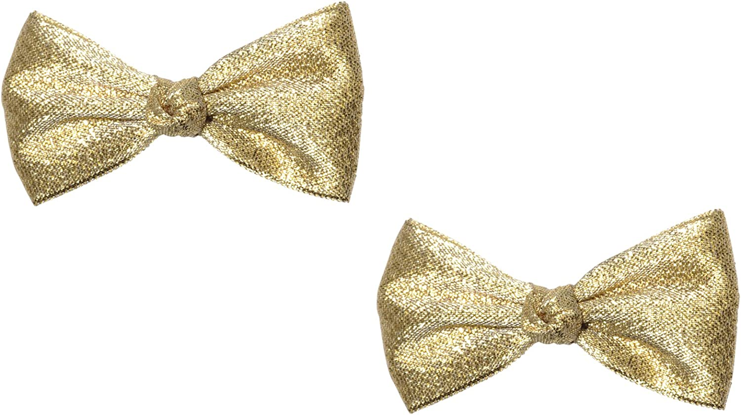 """Anna Belen Girls """"Angel"""" Holiday Bow Clip (2 Pieces)"""
