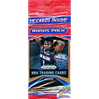 2019/20 Panini PRIZM NBA Basketball JUMBO FAT CELLO Pack with 15 Cards including (3) EXCLUSIVE Red, White & Blue PRIZMS! Look for RC & Autos of ZION WILLIAMSON, Ja Morant, RJ Barrett & More! WOWZZER!