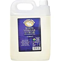 Golden Swan White Vinegar for Cleaning, Pickling, Marinating & Cooking - 5 Litre Bottle - Produced in The UK (1 Pack)