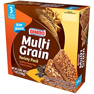 Bimbo Multigrain Mix Bar, 7 oz