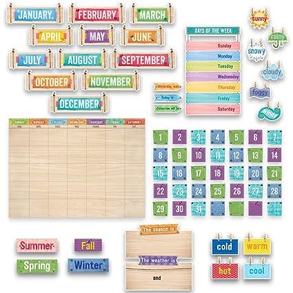Calendrier Pour La Classe.Creative Teaching Press Upcycle Style Calendrier Pour