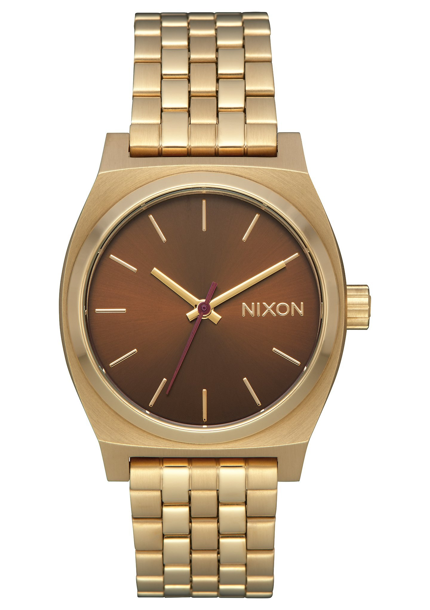 Nixon Medium Time Teller Gold Manuka A11302803 by NIXON