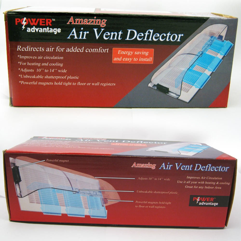 amazon com amazing air vent deflector home improvement