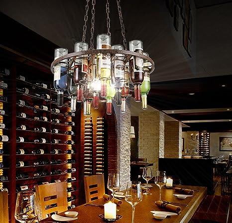 kjlars botellas lámpara colgante araña moderna lámpara de ...