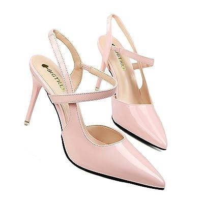 online retailer 2a3d1 068a8 Amazon.com | Velardeeee Sandals Slingback Bridal Red Bottom ...