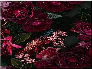 500 Piece Jigsaw Puzzle, Midnight Summer Botanical Roses, Puzzles for Adults 500 Pieces, Jigsaw Puzzles for Child, Adults Home Decor