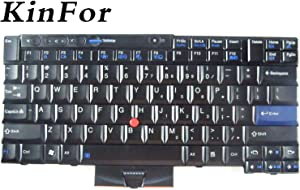 Keyboard for IBM Lenovo Thinkpad T410/T420/T510 Keyboard 45N2176/45N2211 + Clear Protector Cover