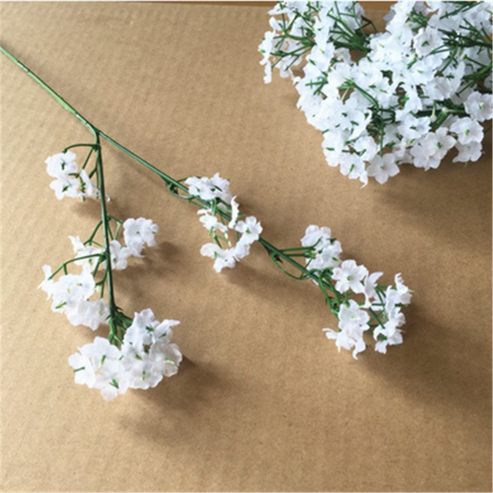 Genenic Baby Breathgypsophila Wedding Decoration White Colour Silk