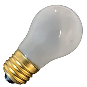 Supplying Demand 8009 Frosted Appliance Bulb 40-Watt AP3607217 40 A15 Bulb