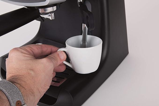 Jata CA1051 Cafetera Express con Presión de 19 bar Memoriza la ...
