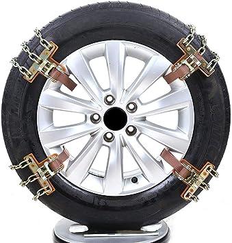 Leiyini Schneeketten Auto Reifen Notfall Schnee Reifen Kette Auto Sicherheitskette f/ür Das Auto Truck