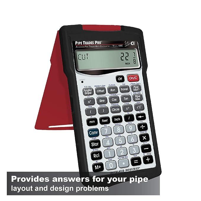 amazon com: pipe trades pro 4095 advanced pipe trades math calculator: home  improvement