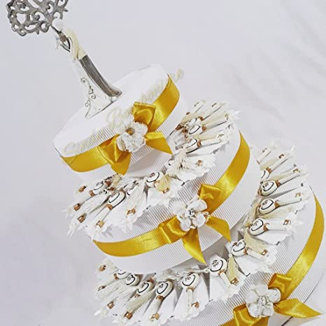 Torta Bomboniera Per Matrimonio Anniversario 50 Anni 50esimo Sposi