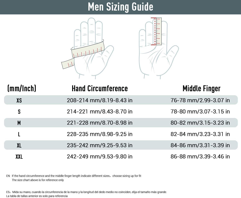 Vgo.. MF2501 2 Pairs Men Sticky Grip Flexible Football Gloves Receiver Gloves