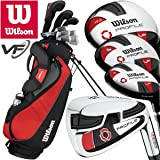"""NEW 2017"" WILSON PROSTAFF PROFILE VF MENS COMPLETE GOLF SET +GOLF STAND BAG"