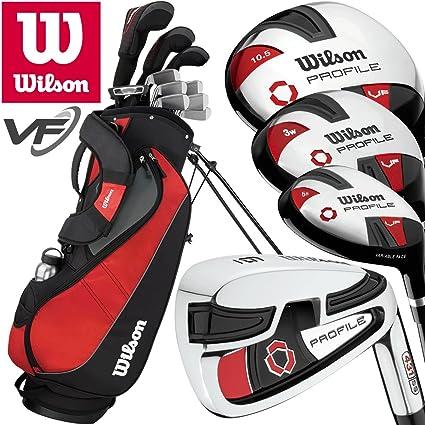Wilson Prostaff Profile VF - Juego completo de golf y bolsa ...