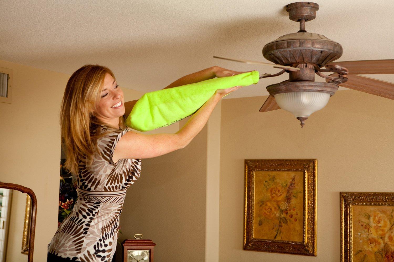 Fanbladecleaner Ceiling Fan Duster 100% Microfiber