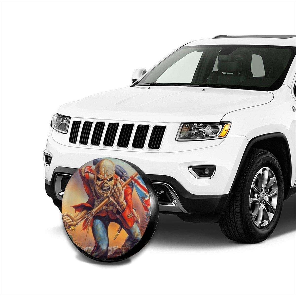 Trailer,RV,SUV,Truck and Vehicle Wheel 14 15 16 17 66JR Spare Tire Covers Jeep Girl Print Wheel Tire Cover Weather-Proof Universal Fit for Jeep