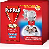Pif Paf PowerGard Electrical Plug-In Liquid Mosquito Killer Device with 30 Nights Refill
