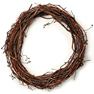Darice 2802-73 Grapevine Wreath 18""
