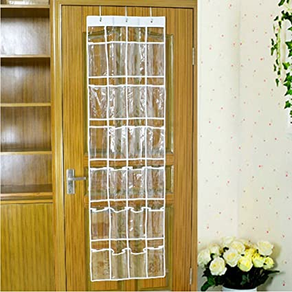 Just Life Shoe Storage Bag Collection Cyrstal Hanging Closet Space Saving Holder Over the Wall Door & Amazon.com: Just Life Shoe Storage Bag Collection Cyrstal Hanging ...