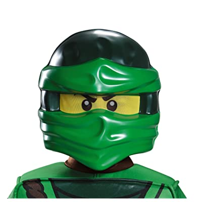Lloyd Ninjago Lego Mask, One Size Child: Toys & Games