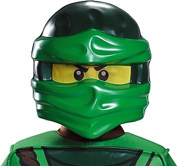 LEGO máscara, niños Ninjago Lloyd s Disfraz Accesorio: Amazon.es ...